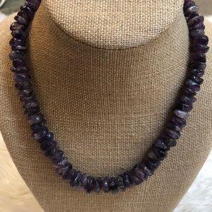 Amethyst necklace 💕💕💕